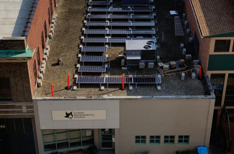 IEC's Finished Solar Installation